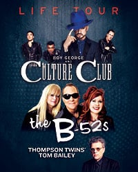 Culture Club, The B-52s, and Thompson Twins' Tom Bailey