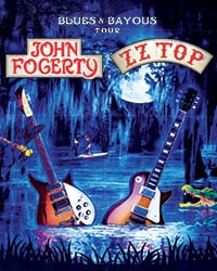 John Fogerty / ZZ Top: Blues and Bayous Tour