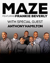 Maze featuring Frankie Beverly with Anthony Hamilton