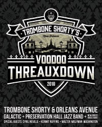 Trombone Shorty's Voodoo Threauxdown